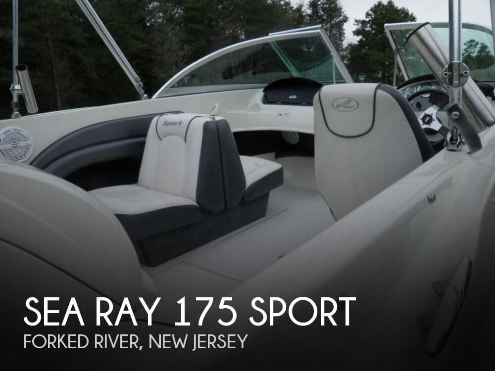 2010 Sea Ray boat for sale, model of the boat is 175 Sport & Image # 1 of 40