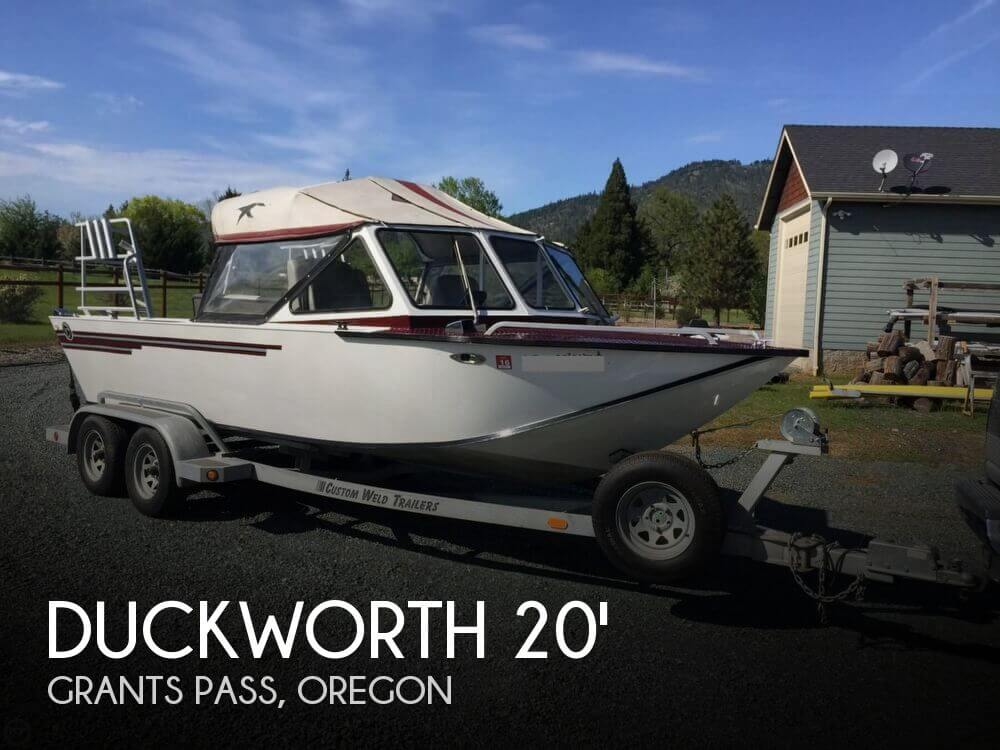 1987 Duckworth 20 Silver Wing