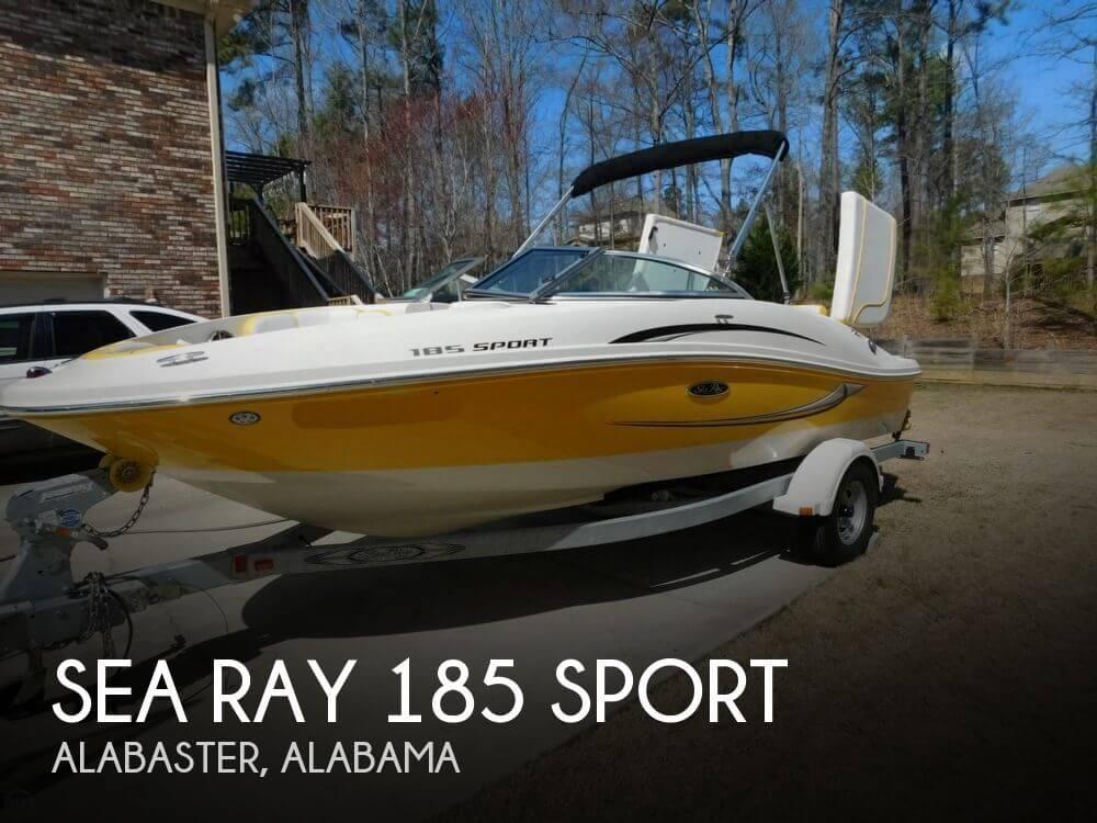 2010 Sea Ray 185 Sport - Photo #1