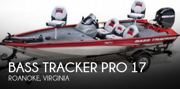 Used Boats For Sale in Roanoke, Virginia by owner | 2013 Bass Tracker Pro 17