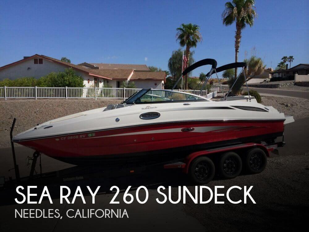 2012 Sea Ray 260 Sundeck - Photo #1