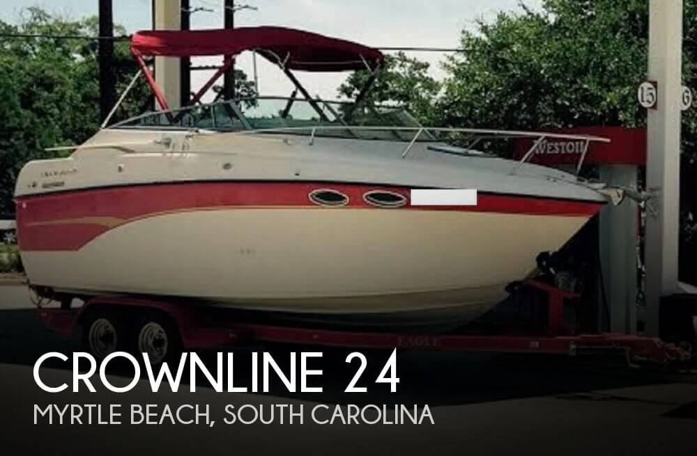 Used Boats For Sale in Des Moines, Iowa by owner | 1999 Crownline 24