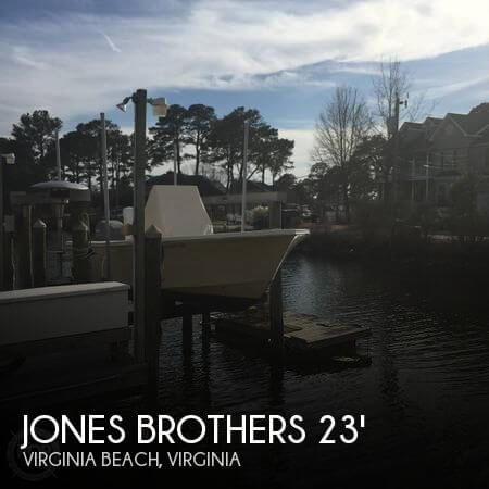 2009 Jones Brothers Cape Fisherman 23 - Photo #1