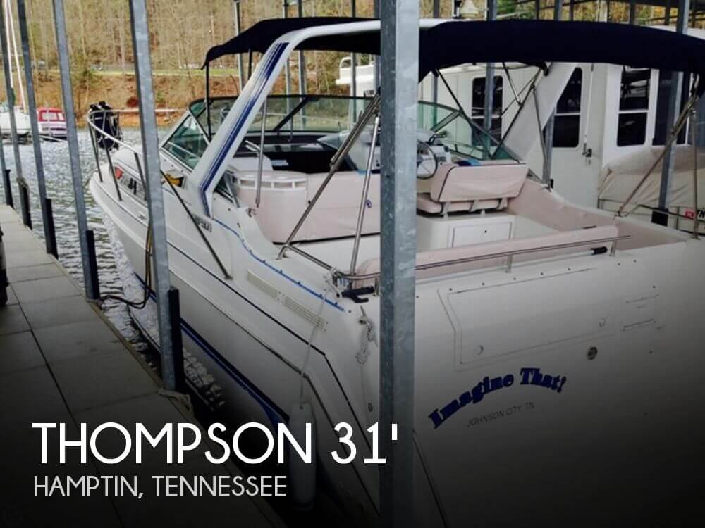 Used Boats For Sale in Kingsport, Tennessee by owner | 1994 Thompson 31