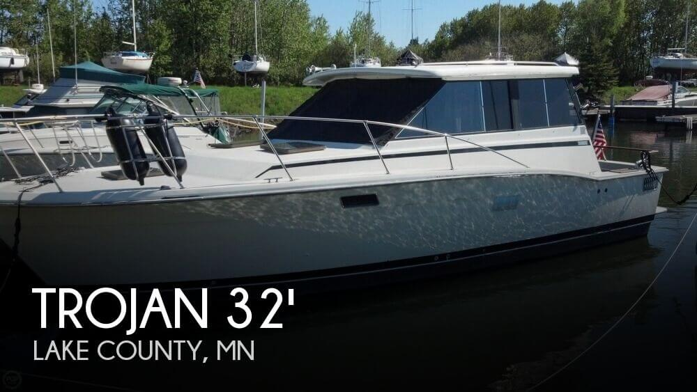 Used Boats For Sale in Duluth, Minnesota by owner | 1974 Trojan 32