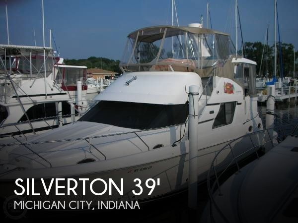Silverton 392 motor yacht boat for sale in michigan city for Silverton motor yachts for sale
