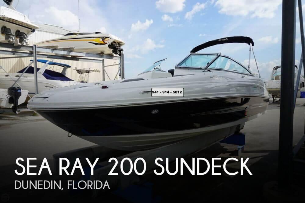 2011 Sea Ray 200 Sundeck - Photo #1