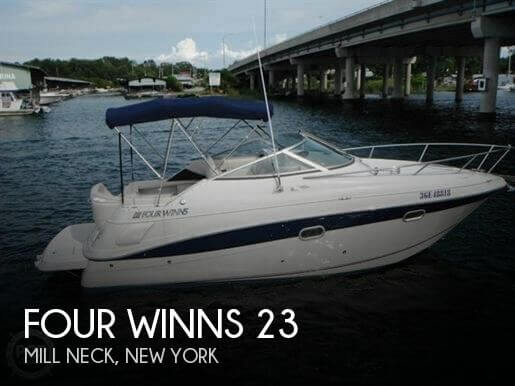 Used Four Winns Boats For Sale in New York by owner | 2000 Four Winns 23