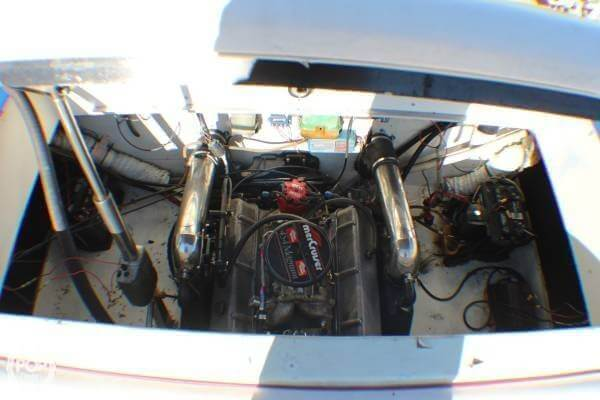 1987 Baja boat for sale, model of the boat is Force 265 & Image # 8 of 40