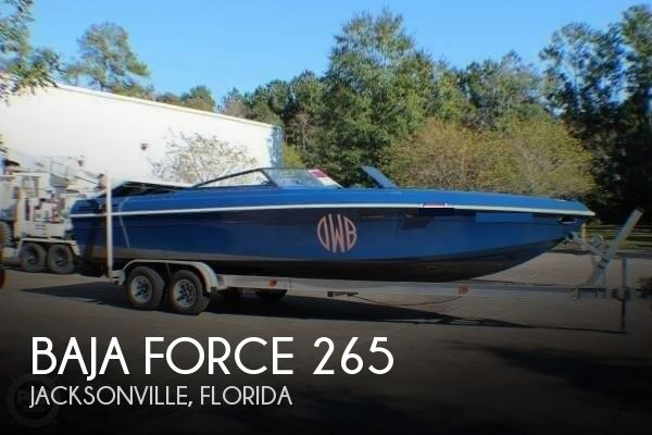 1987 Baja boat for sale, model of the boat is Force 265 & Image # 1 of 40