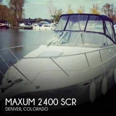 2000 Maxum 2400 SCR - Photo #1