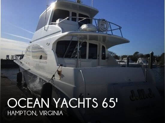 Used Boats For Sale in Virginia Beach, Virginia by owner | 2003 Ocean Yachts 67