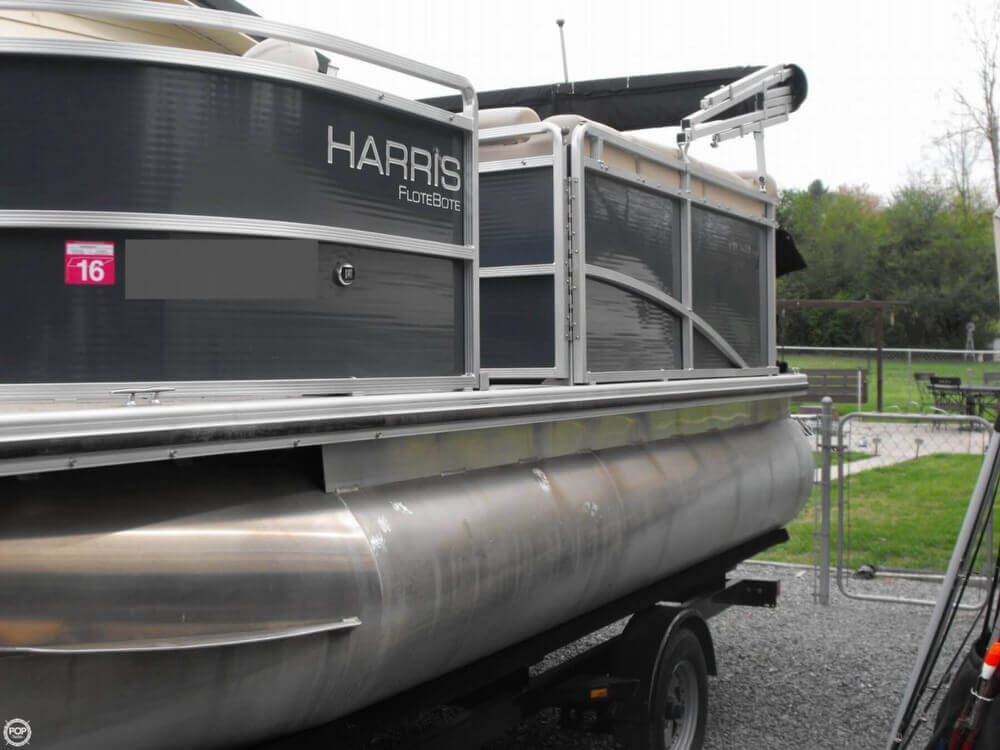 2013 Harris Flotebote Cruiser 180 - Photo #8