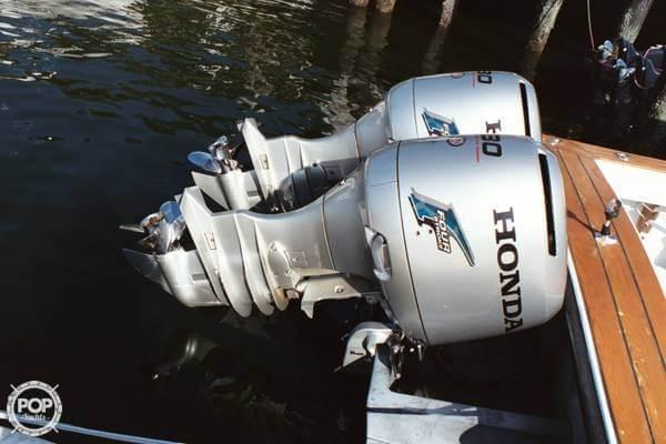Dual Honda Four Stroke Outboards