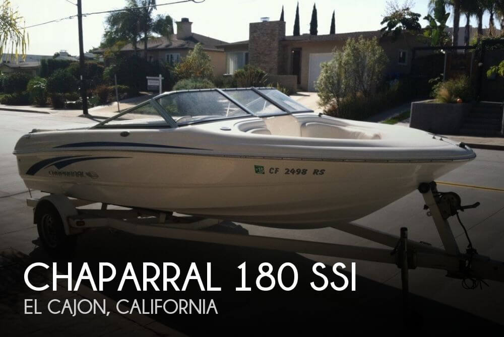 Used Chaparral Boats For Sale in California by owner | 2008 Chaparral 18