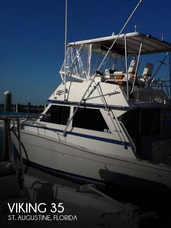 1987 Viking 35 Fishing boat for Sale in St Augustine, FL