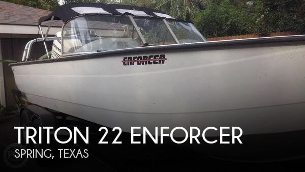 Triton 22 enforcer for sale in spring tx for 27 300 for Stock fish for sale texas