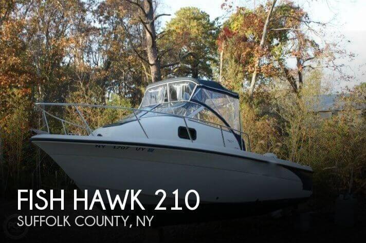 2002 Fish Hawk 210 - Photo #1