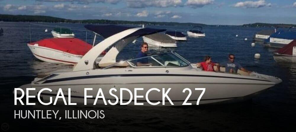 2013 Regal FasDeck 27 - Photo #1