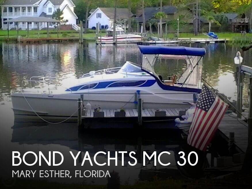 2002 Bond Yachts MC 30 - Photo #1