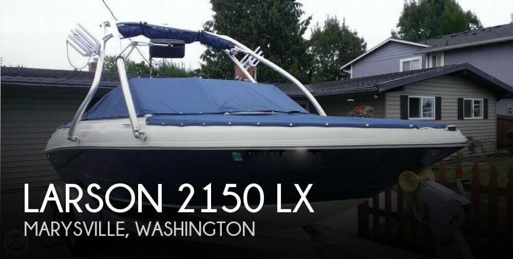 2012 LARSON 2150 LX for sale