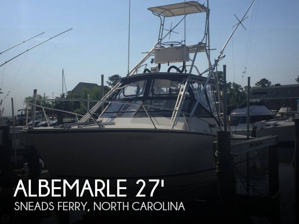 1989 Albemarle Express Fisherman 27 - Photo #1