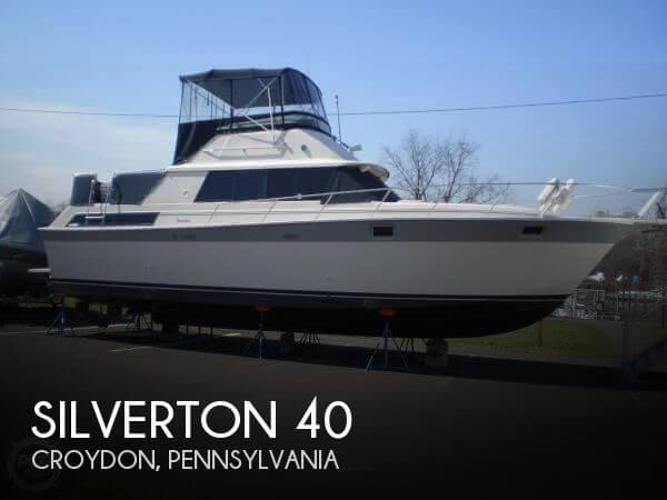 1988 Silverton 40 - Photo #1