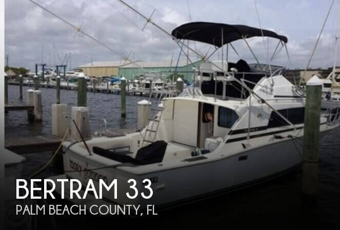 Used Boats For Sale by owner | 1987 Bertram 33