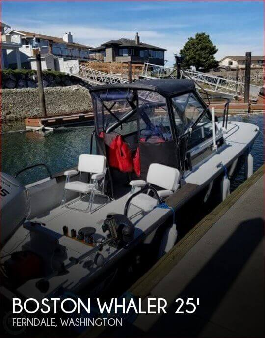 1991 BOSTON WHALER 25 GUARDIAN SENTRY for sale