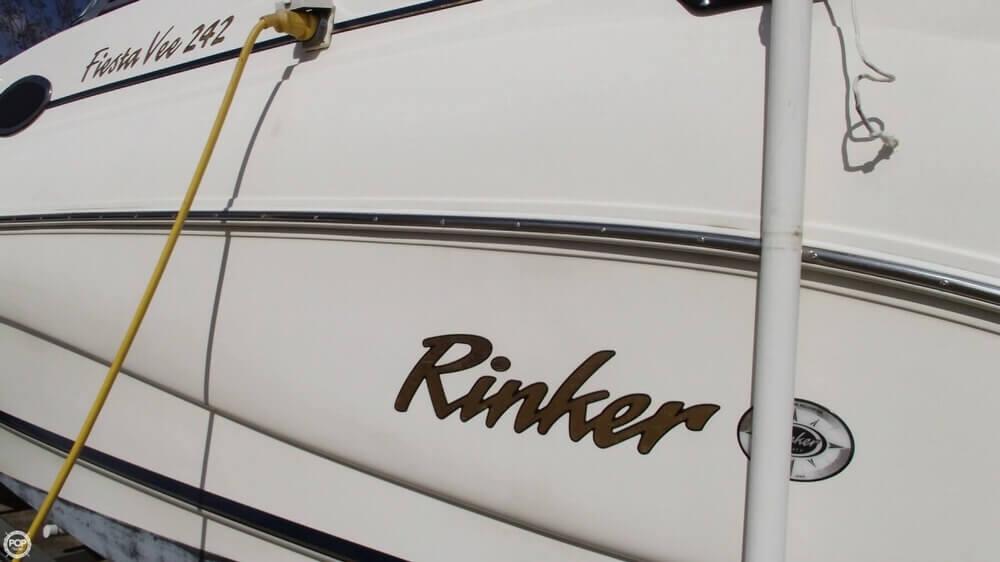 2001 Rinker Fiesta Vee 242 - Photo #11