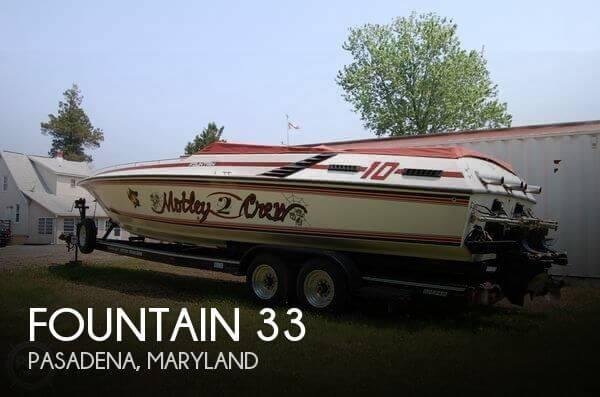 1986 Fountain 33 - Photo #1