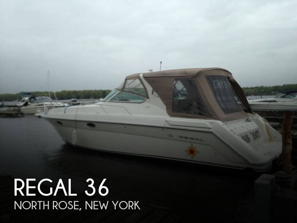 Used Regal Boats For Sale in New York by owner | 1997 Regal 36