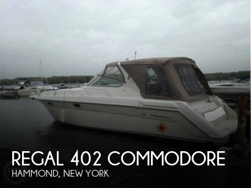1997 Regal boat for sale, model of the boat is 402 Commodore & Image # 1 of 40