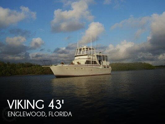 1978 VIKING 43 DOUBLE CABIN for sale