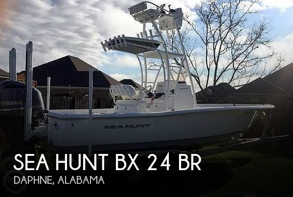 Used Boats For Sale in Mobile, Alabama by owner | 2015 Sea Hunt 24