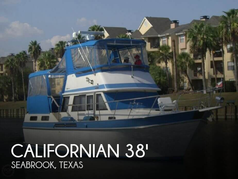 Used Californian Boats For Sale by owner | 1985 Californian 37
