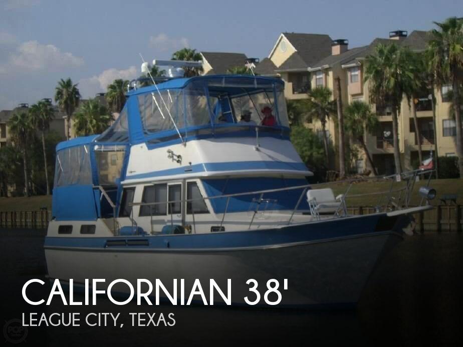 1985 CALIFORNIAN 38 TRAWLER for sale
