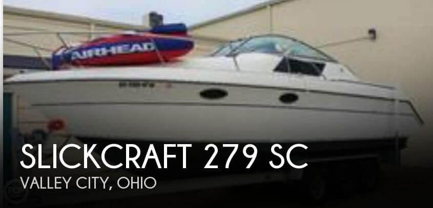 1988 Slickcraft 279 SC - Photo #1