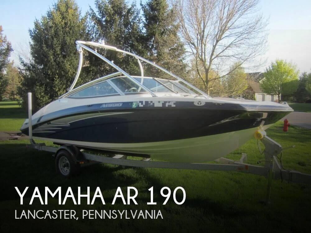 2012 Yamaha AR 190 - Photo #1