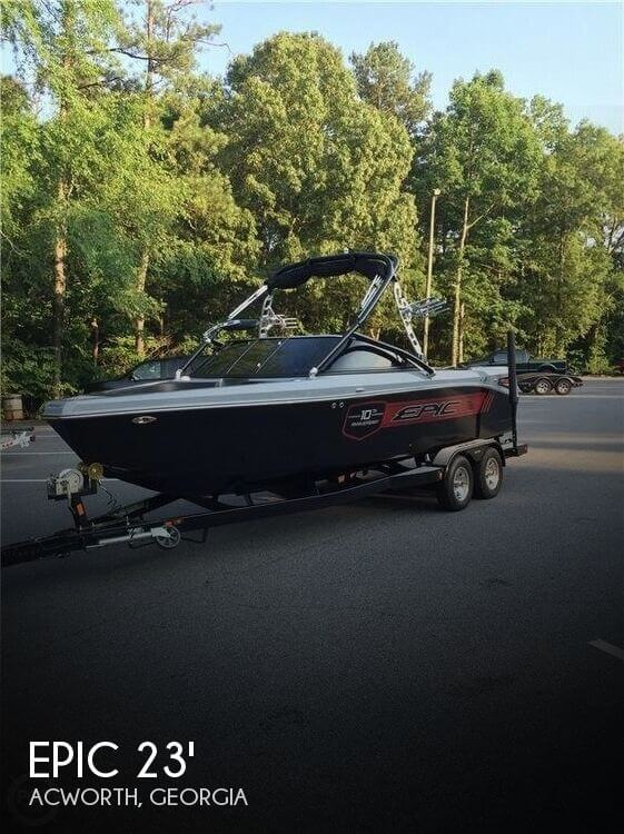 Used Ski Boats For Sale in Georgia by owner | 2012 Epic 23v
