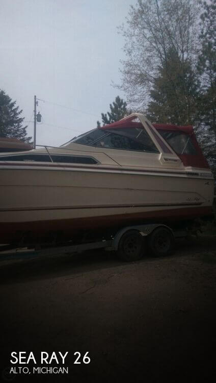 Used Sea Ray Boats For Sale in Michigan by owner | 1988 Sea Ray 26