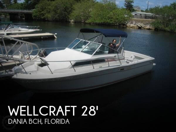 1989 Wellcraft Coastal 2800