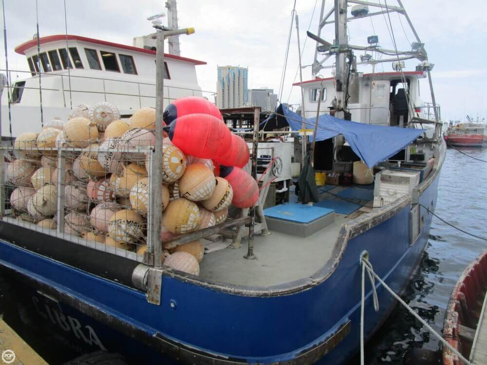 1975 Delta 50 Commercial Fishing Boat - Photo #4