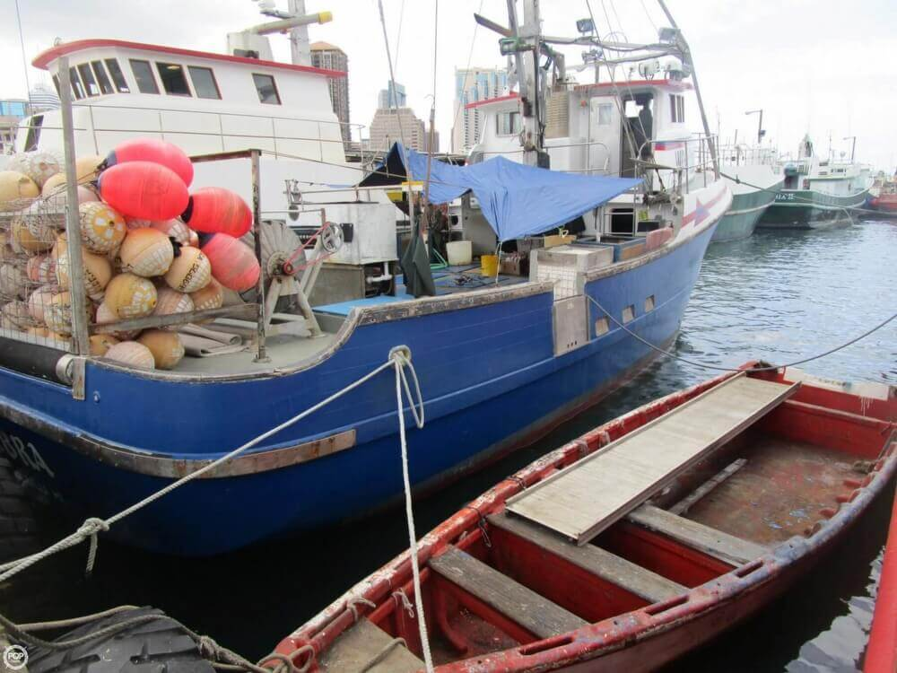 1975 Delta 50 Commercial Fishing Boat - Photo #7