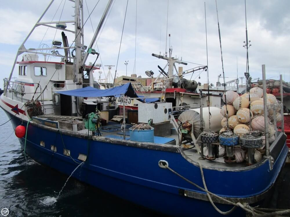 1975 Delta 50 Commercial Fishing Boat - Photo #8