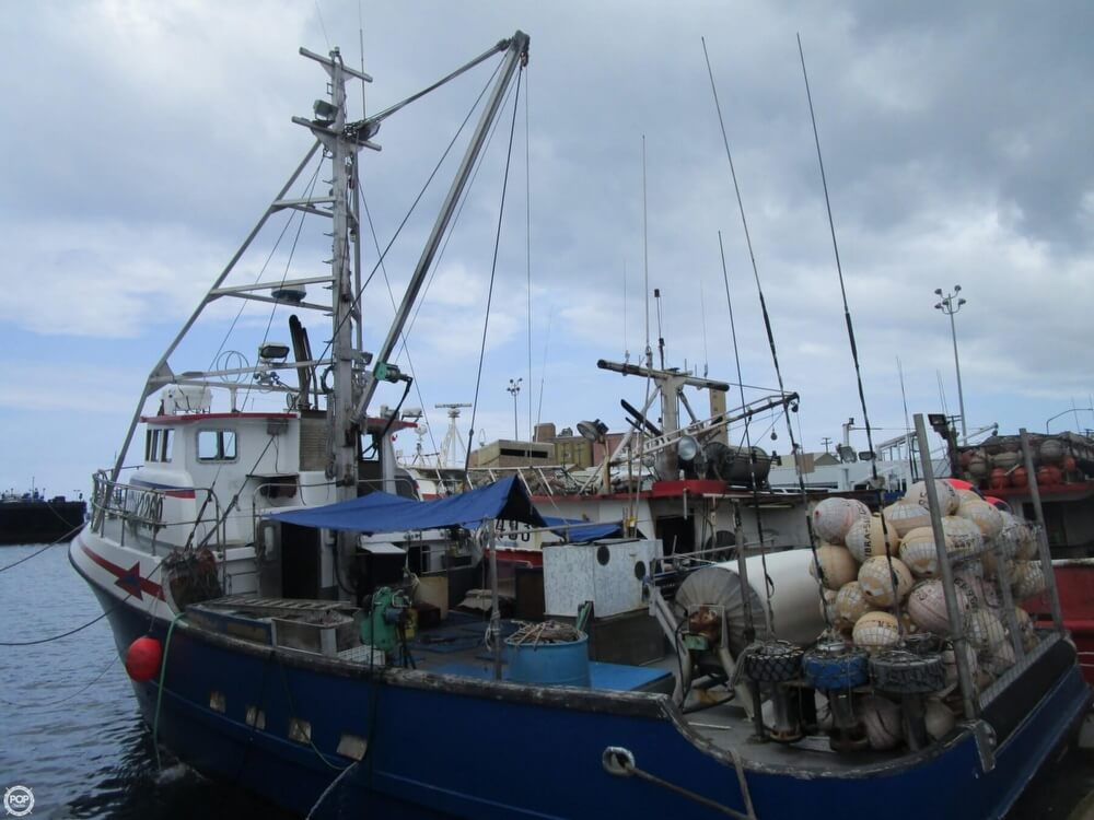 1975 Delta 50 Commercial Fishing Boat - Photo #9