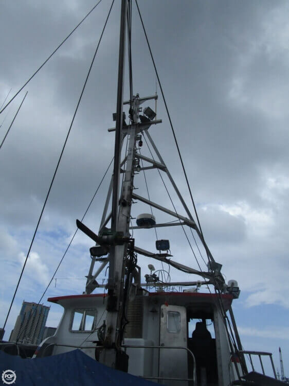 1975 Delta 50 Commercial Fishing Boat - Photo #17