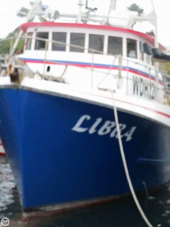 1975 Delta 50 Commercial Fishing Boat - Photo #2