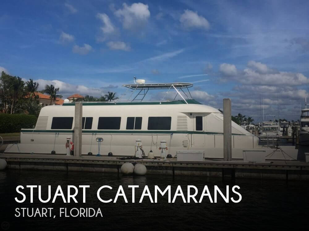 Used Boats For Sale in Palm Bay, Florida by owner | 1997 Stuart Catamarans Calydor 60