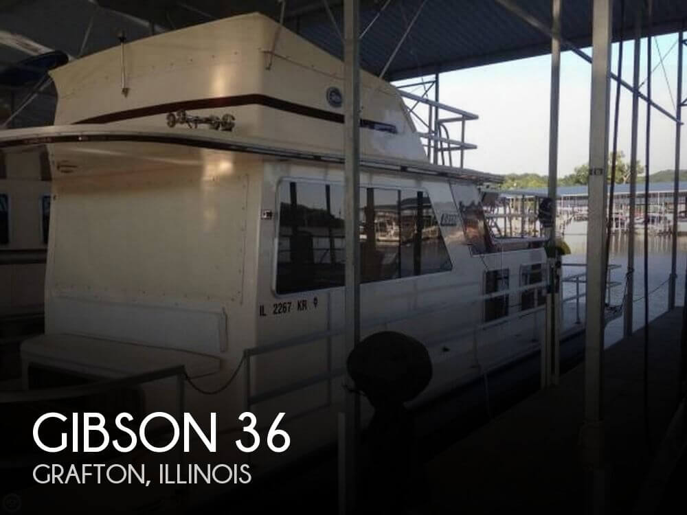 Used GIBSON Boats For Sale by owner | 1988 Gibson 36